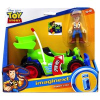 """Woody & RC Toy Story Imaginext Figures 2.5"""""""