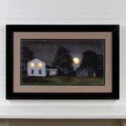 Ohio Wholesale Lighted Matted Hot Summer Night by Billy Jacobs Framed Photographic Print