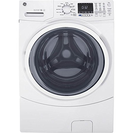 GE White 4.5 Cu. Ft. Front Load Steam Washer (Quietest Front Load Washer And Dryer 2017)