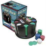 Deluxe Carousel Poker Rack Set Pre-Packaged