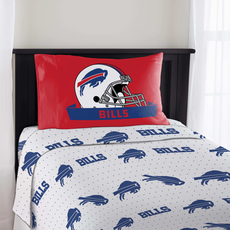NFL Buffalo Bills Monument Twin Sheet Set