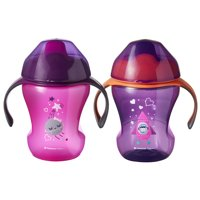Tommee Tippee Infant Trainer Sippee Cup, 7+ months  8oz, 2pk (Colors May Vary)