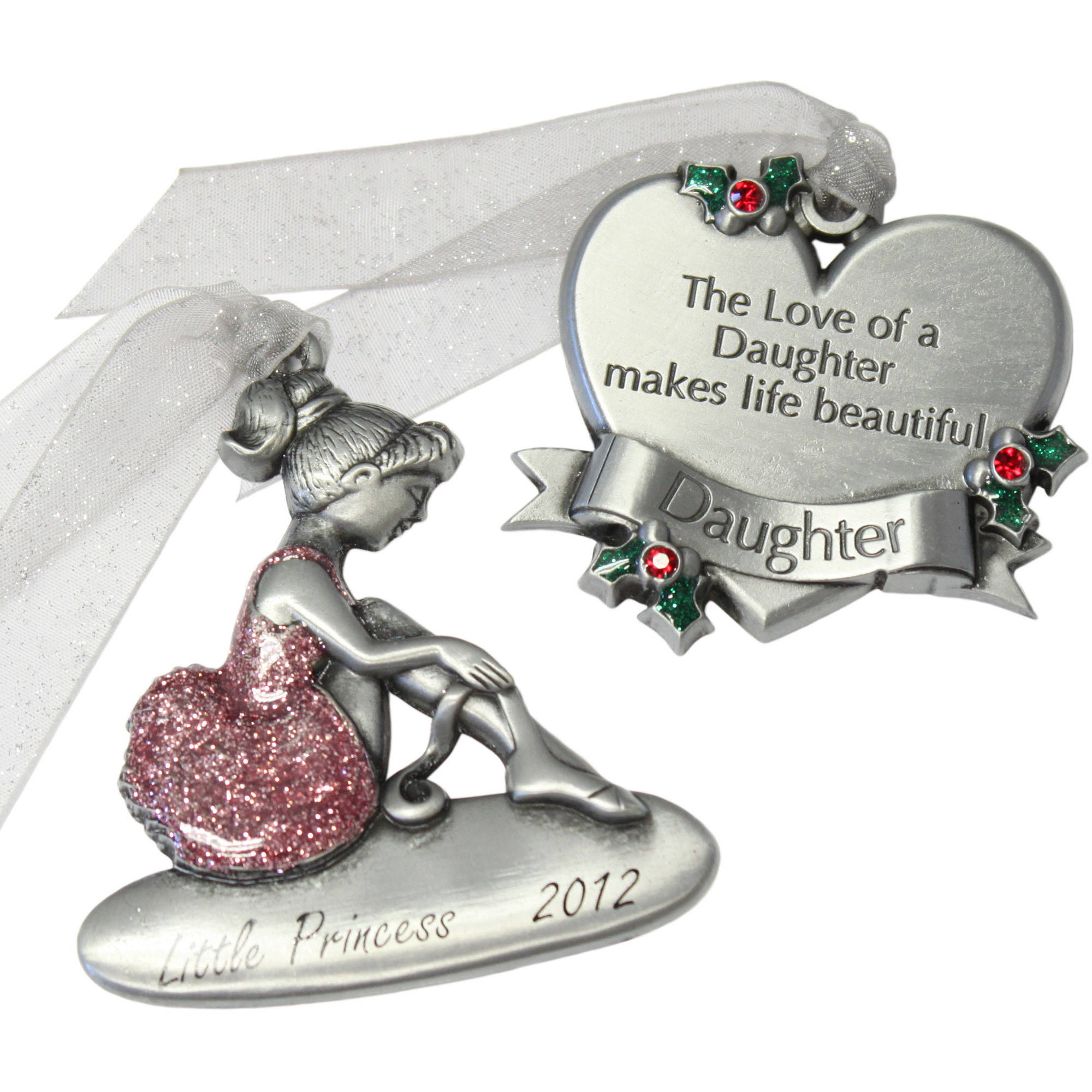 Gloria Duchin 2pc Daughter Ornament Gift Set