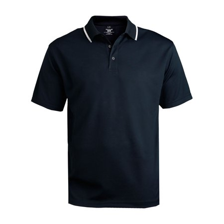 Ed Garments Men's Big And Tall Performance Polo Shirt, NAVY, XXXXX-Large Tall
