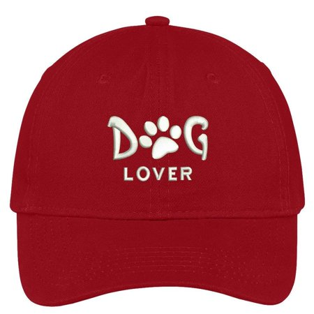 ab2f729e8 Trendy Apparel Shop Dog Lover Embroidered Soft Low Profile Cotton Cap Dad  Hat - Walmart.com