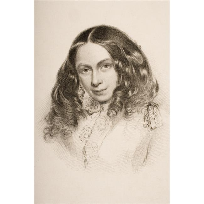 Posterazzi DPI1857021LARGE Elizabeth Barret Browning In March 1859 English Poet 1806 1861 Engraved by G Poster Print, Large - 24 x 36 - image 1 de 1