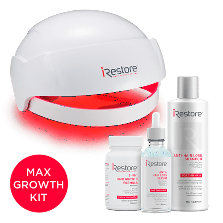 iRestore MAX Hair Growth Kit