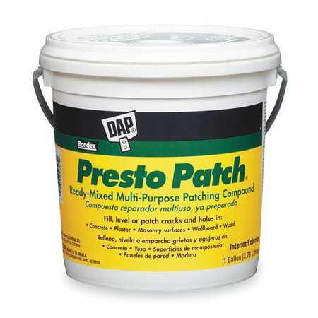 Patching Compound,1 gal,Pail,Off-White DAP 58555
