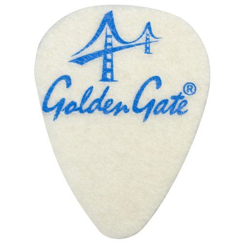 Golden Gate FP-1 Ukulele Felt Picks, 3 Pack by