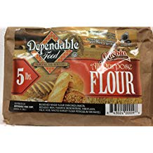 Masbia Dependable Food All Purpose Flour 80 Oz. Pack Of 3.