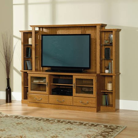 Orchard Hills Carolina Oak Home Theater for TV;s up to 42;