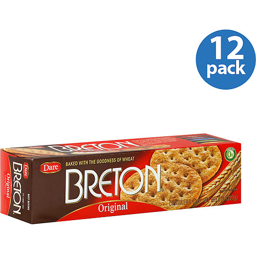 Breton Original Crackers, 8 oz, (Pack of 12)