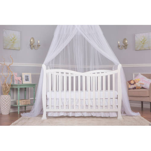 Dream On Me Violet 7-in-1 Convertible Life Style Crib, Cherry