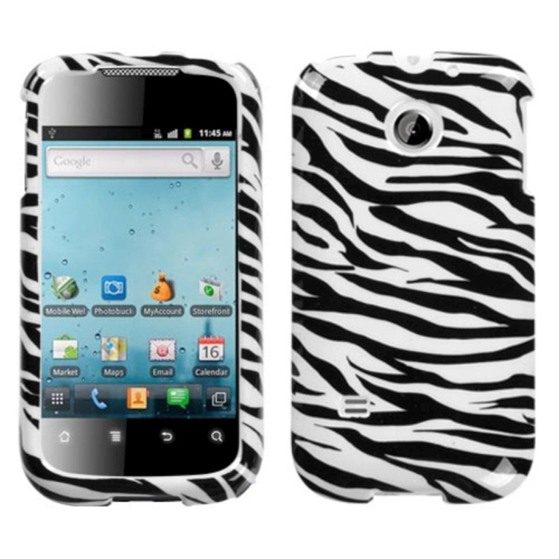 Insten Zebra Skin Phone Case for HUAWEI: M865 (Ascend II), U8651T (Prism), U8651S (Summit)