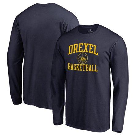 a4af5da28ad Drexel Dragons Fanatics Branded In Bounds Long Sleeve T-Shirt - Navy -  Walmart.com