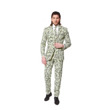 OppoSuits Men's Cashanova Money Suit