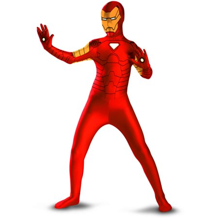 Iron Man Mens Adults Bodysuit Costume - Ironman Costume Adult