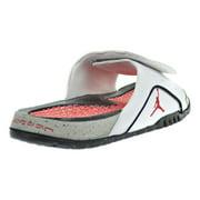 cabefae253d5a Jordan - Jordan Hydro IV Retro Men s Sandals White Fire Red Tech ...