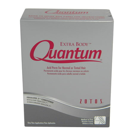 Salon Quantum Ultra Firm Exothermic Perm For Normal Hair HP-48432, QUANTUM Extra Body Acid Perm - Extra Body firm acid perm creates long-lasting, well-defined.., By Zotos (Quantum Firm Perm)