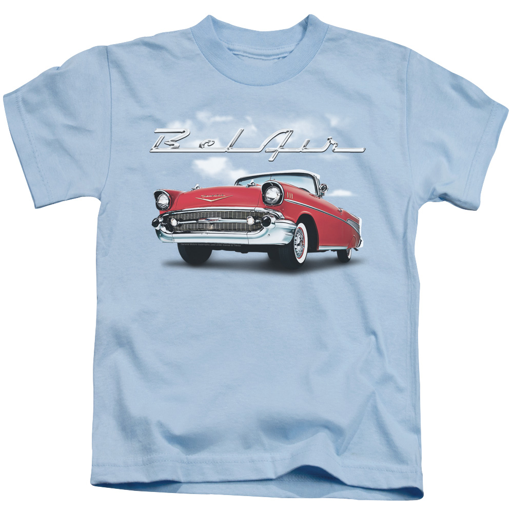 Chevy Bl Air Clouds Little Boys Shirt