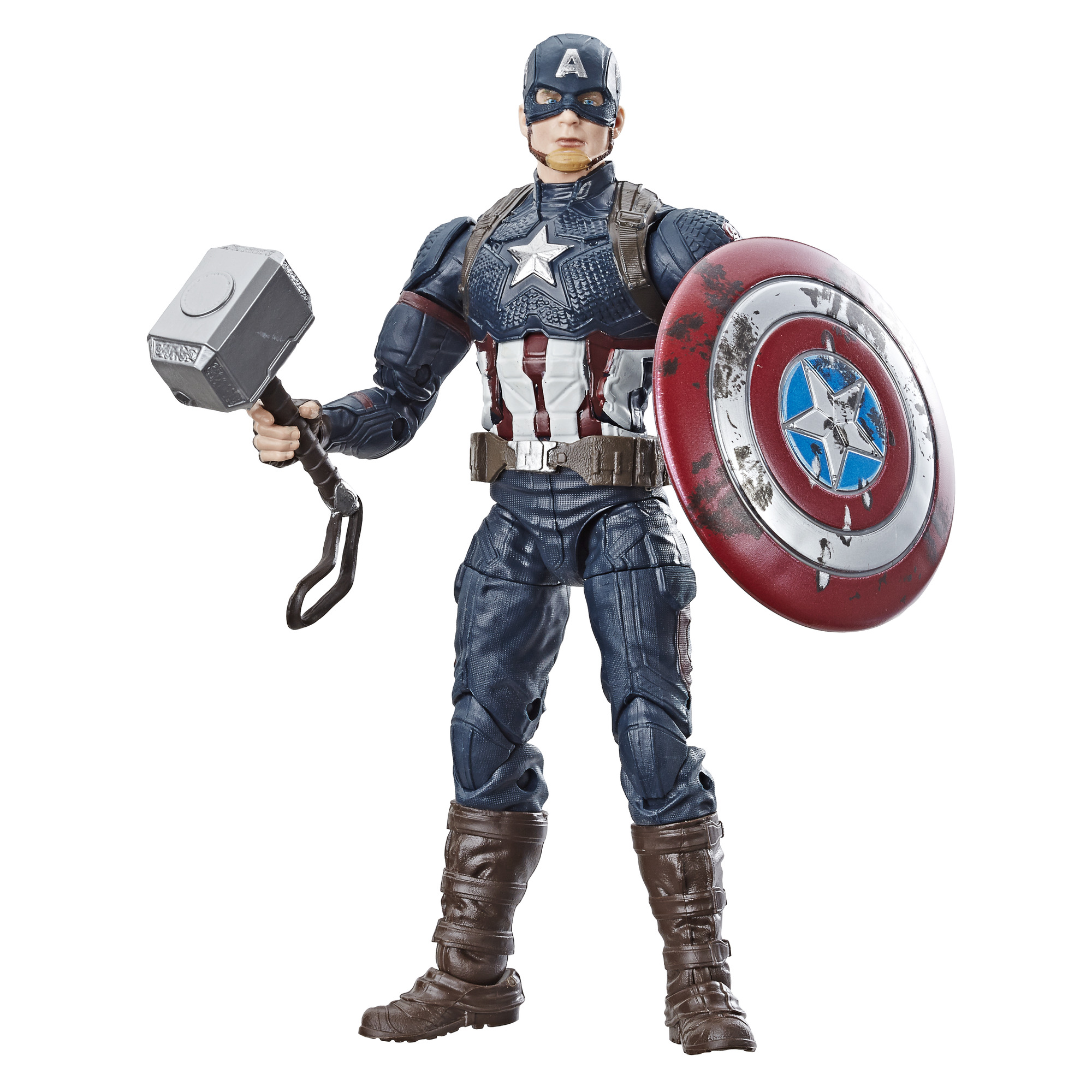 Marvel Legends 6in Captain America With Motocycle Af