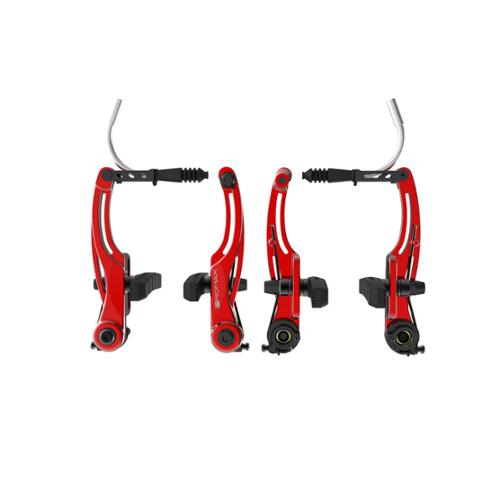 Promax P-1 Linear Pull Brakes 108mm Reach Red
