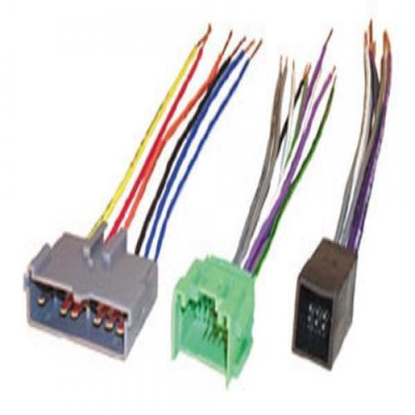 scosche radio wiring harness for 1988 97 select ford lincoln mercury mazda premium sound