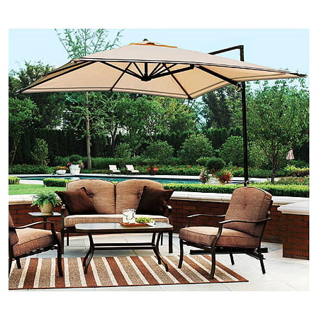Garden Winds Replacement Canopy Top for Sand Dune Offset Umbrella ()