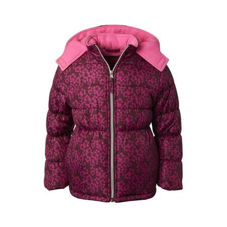 Pink Platinum Baby Toddler Girl Floral Winter Jacket Coat 2t Winter Coat