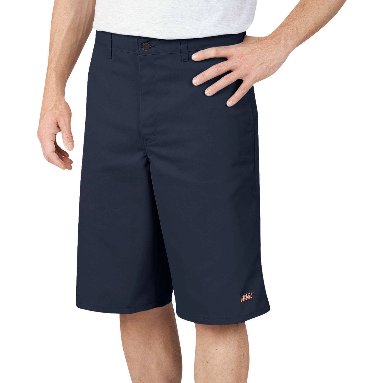 Genuine Dickies 13��� Men���s Twill Shorts with Multi Use Pocket
