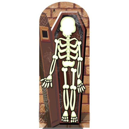 Star Cutouts SC653 Skeleton Stand-In Cardboard Stand Ups - image 1 of 1