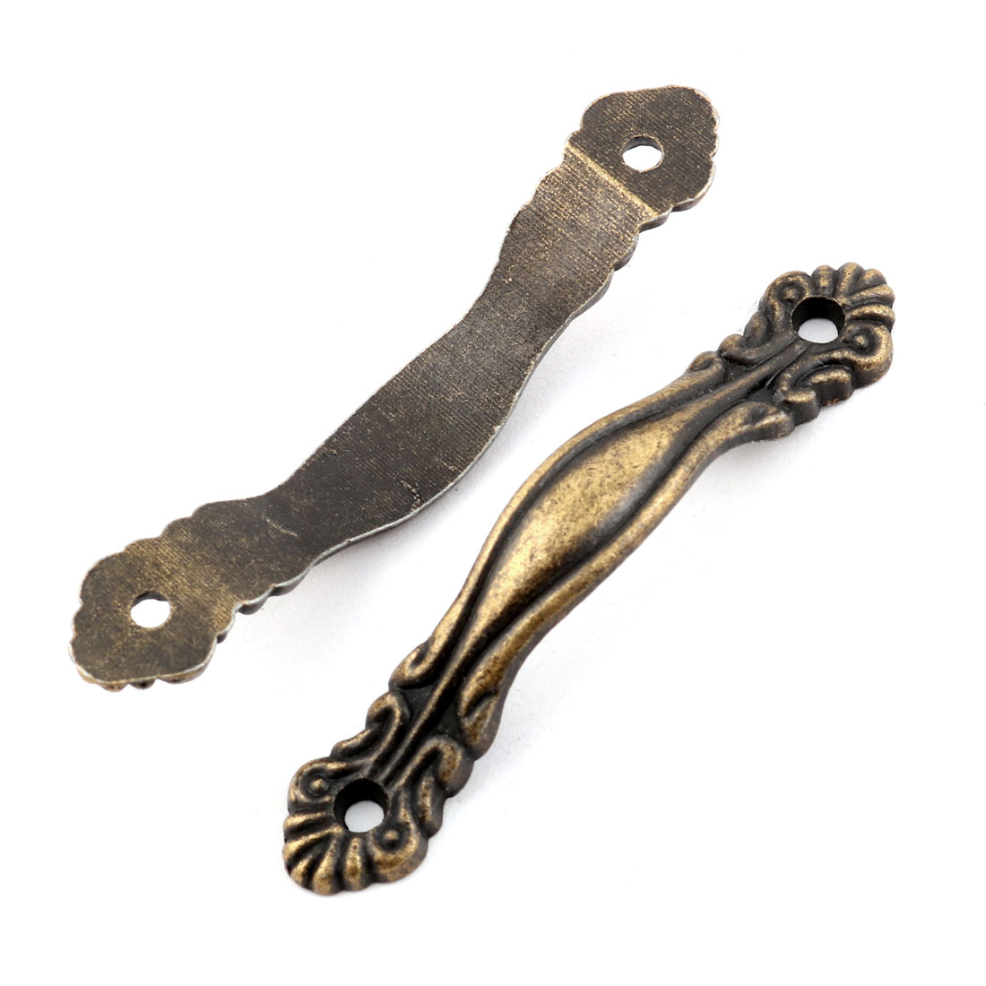 Household Arch Shape Jewelry Box Case Door Drawer Pull Handle Bronze Tone 6pcs - image 2 of 4