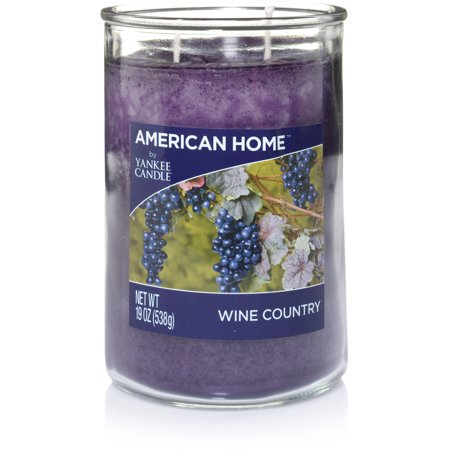 American Home by Yankee Candle Wine Country, 19 oz Large 2-Wick Tumbler