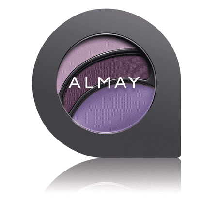 Almay Intense I-Color Party Brights All Day Wear Powder Eye Shadow, 0.2 Oz, For Brown (Amuse Smokey Eyes For Contour Dark Brown)