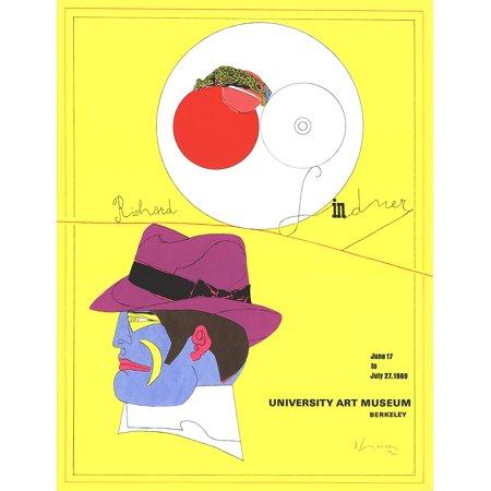 Richard Lindner University Art Museum 1969 Serigraph Signed