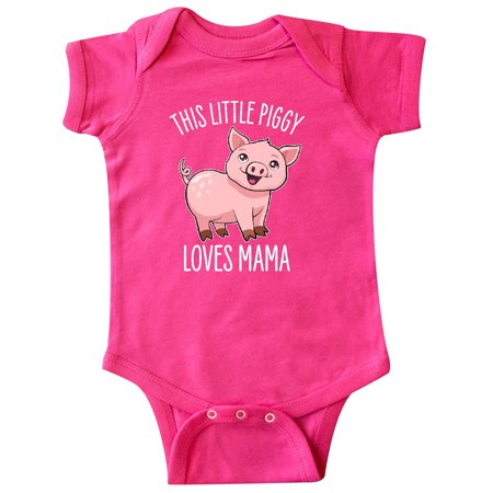 This Little Piggy Loves Mama- cute Infant Creeper