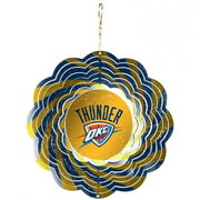 Oklahoma City Thunder Official NBA 8 inch  Wind Spinner by Evergreen