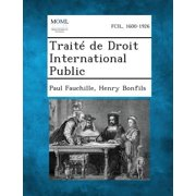 Traite de Droit International Public