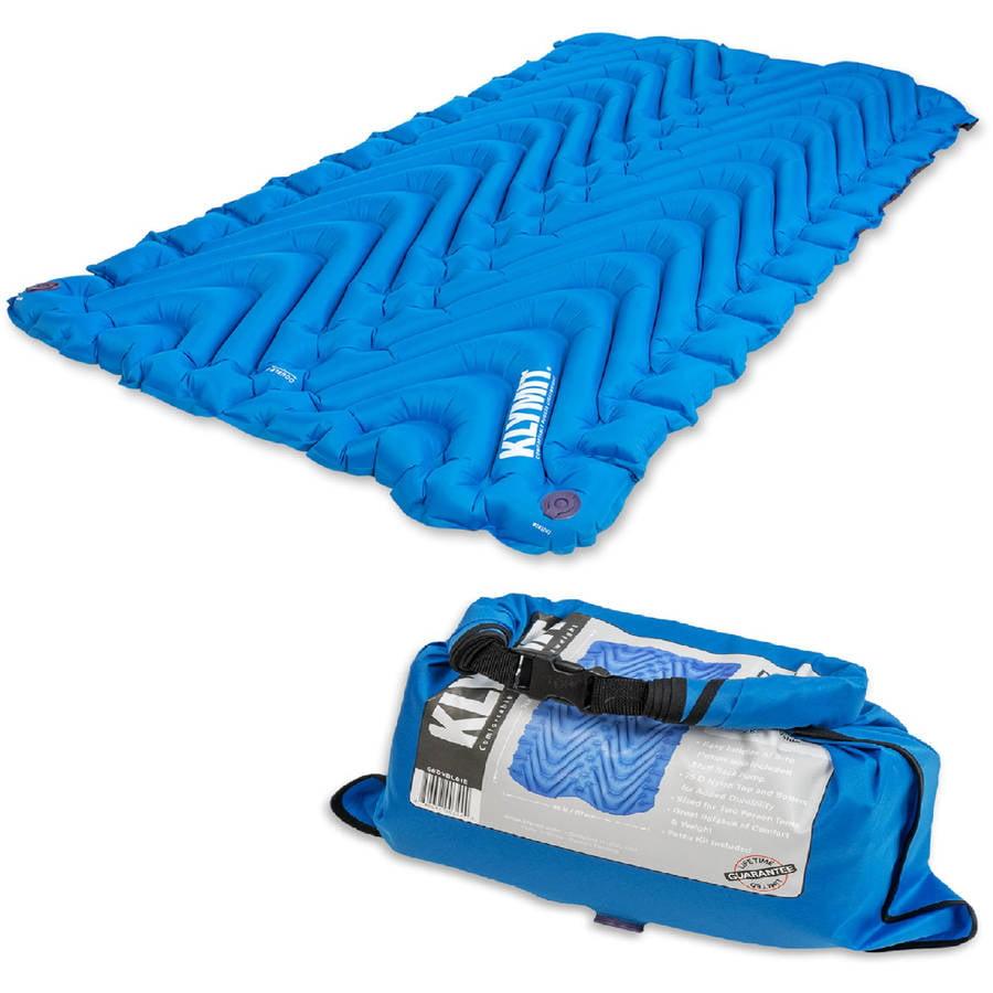 Sleeping Bag Klymit estática doble V colchonetas, tamaño doble + KLYMIT en Veo y Compro