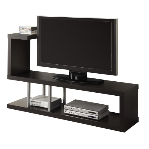 """Monarch Tv Stand Cappuccino For TVs Up To 47""""L"""