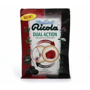 Ricola Dual Action Cough Suppressant Cherry 19 Each (Pack of 2)