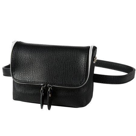 b1b2cf2e4b91 Vbiger Women Fanny Pack Stylish Waist Pack Trendy Waist Bag Fashionable  Waist Pouch Multi-purpose Cross-body Bag with Adjustable Waist Belt and ...