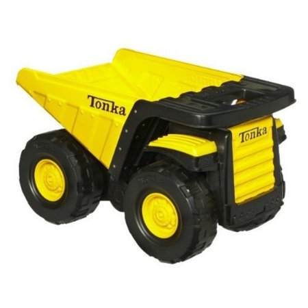 Tonka Toughest Mighty Dump Truck - Classic Steel(age: 3 years and up) (Oversized dump truck measures 18 by 11-1/4 inches; 6-1/2-inch