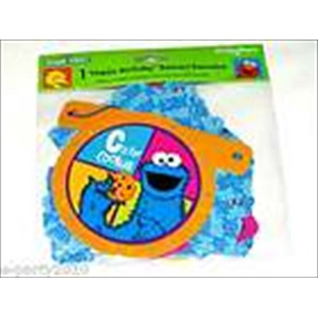 Sesame Street 'P is for Party' Happy Birthday Banner (1ct)](Sesame Street Birthday Banner)
