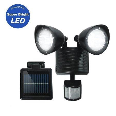 LED Garage Lights Motion Sensor Lights 55V 180mA Solar