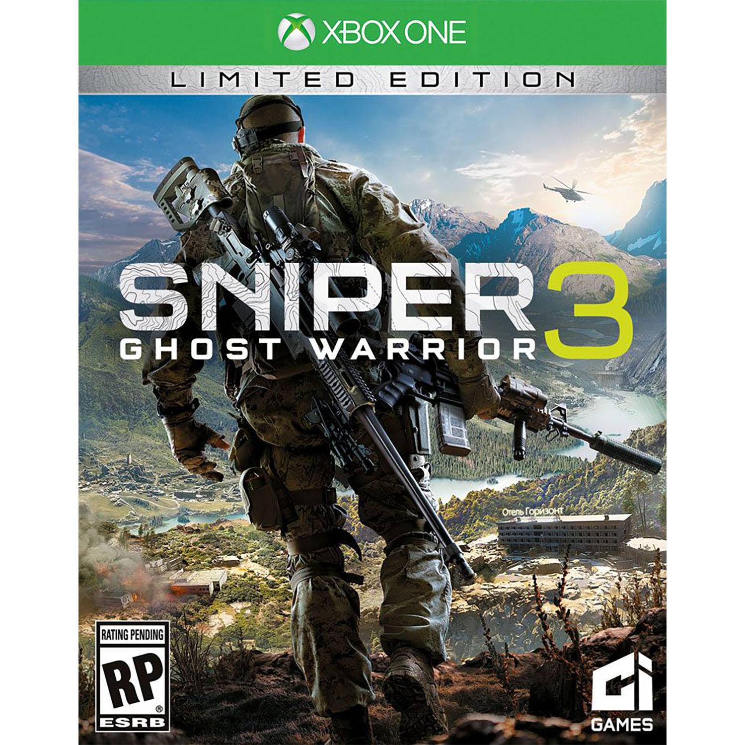 Sniper: Ghost Warrior 3 - Pre-Owned (Xbox One)