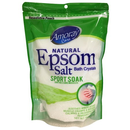 New 825225  Amoray Epsom Salt Pouch Sport Soak 16Oz (12-Pack) Pain Reliever Fever Reducer Cheap Wholesale Discount Bulk Pharmacy Pain Reliever Fever Reducer](Cheap Sports)