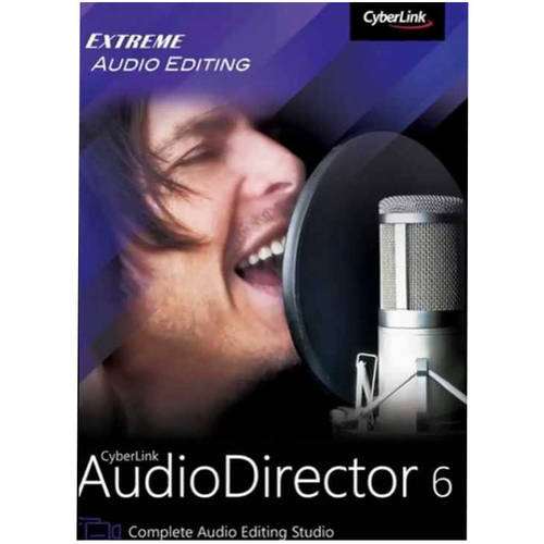 CyberLink ADR-0600-IWU0-00 AudioDirector 6 Ultra (Email Delivery)