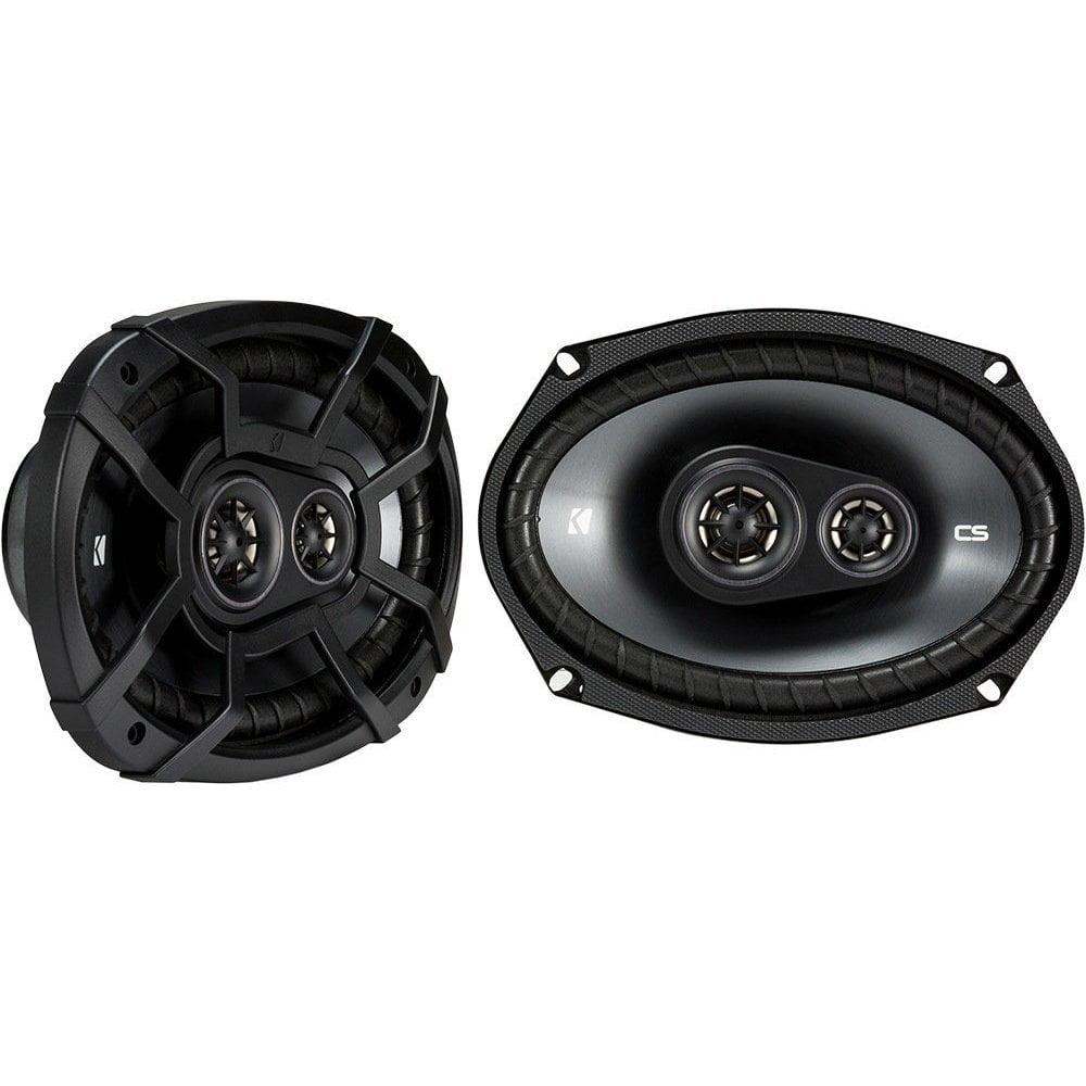Kicker CSC693 6 x 9 Inch 450W 3 Way 4 Ohm Car Audio Speakers, Pair | 43CSC6934