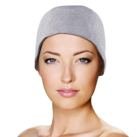 Tension Relief Wrap - Migraine Gel Full Head Coverage Ice Hat by FOMI Care | Cranial Cold Cap | Top and Side Skull Cooling Headache Pack | Wearable Cold Therapy Dome Wrap for Tension, Sinus, Stress, Pressure Pain Relief